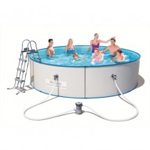 Стальной бассейн BestWay Hydrium Splasher Pool Set 360х90 см, 8648 л