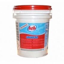 Быстрорастворимый хлор в гранулах для уничтожения грибков, вирусов и бактерии, HTH GRANULAR, 25 кг (72303)