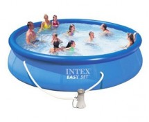 Бассейн Intex Easy Set 457х91см с фильтром-насосом