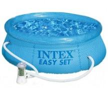 Бассейн Intex Easy Set 244х76см с прозрачным кольцом, 2419л