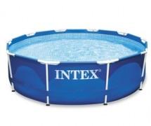 Каркасный бассейн Intex Metal Frame 305х76см, 4485л (28200)