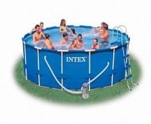 Каркасный бассейн Intex Metal Frame 366х98см, 9400л (28218)
