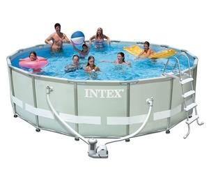 Каркасный бассейн Intex Ultra Frame, 488х122см, 19156л (28322)