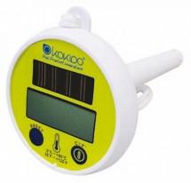 Термометр, цифровой на солнечных батареях, для измерения температуры воды в бассейне (K837CS)