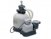 56678/28678 Песочный фильтр-насос с хлорогенератором