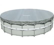 Тент для каркасного бассейна Ultra Frame 488см, выступ 20см (28040)