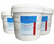 Хлор в таблетках, медленнорастворимый, на основе 90% активного хлора, 5кг (C90T-5)